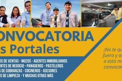 Nueva convocatoria empleos LOS PORTALES