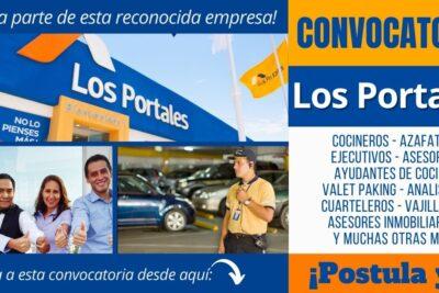 Empleos disponibles en LOS PORTALES