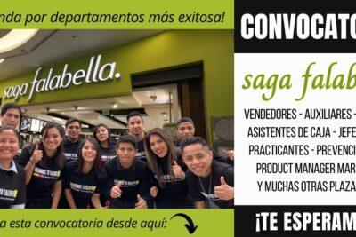 empleos Tiendas Saga Falabella