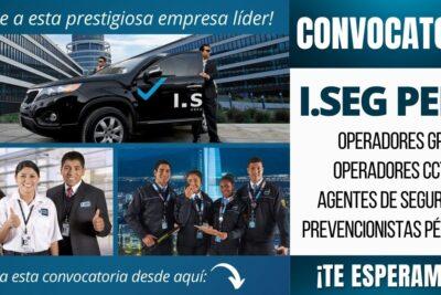 empleos Agentes de Seguridad ISEG