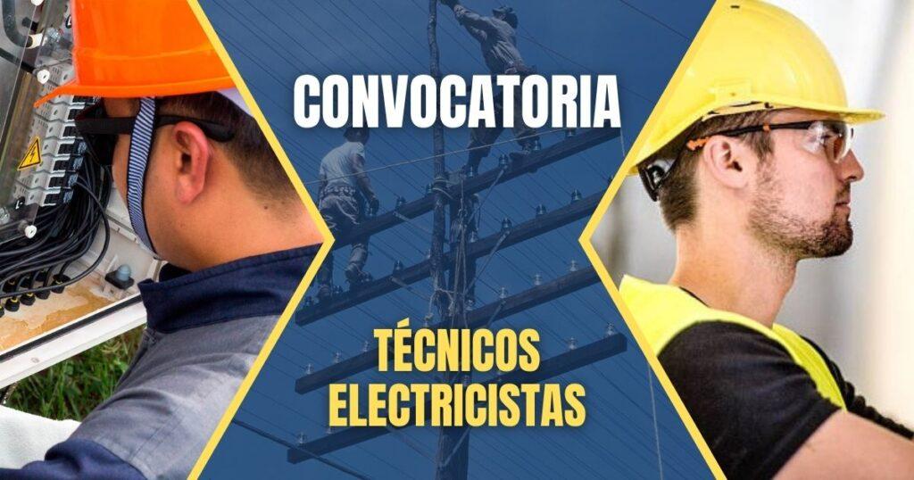 empleos tecnicos electricistas
