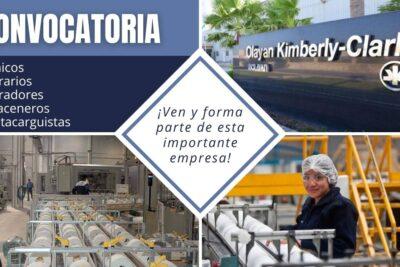 empleos kimberly clark
