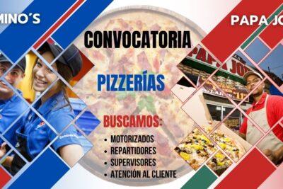 empleos pizzerías