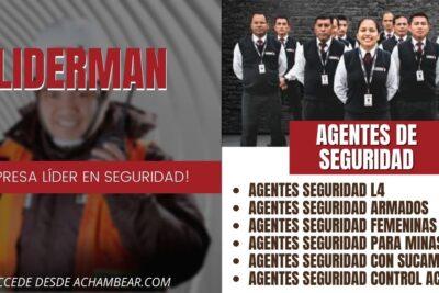 agentes seguridad experiencia liderman