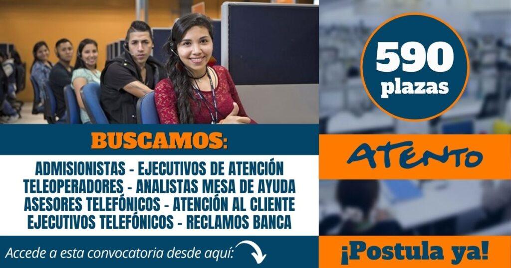 empleos atento call center