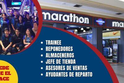 nueva convocatoria tiendas marathon