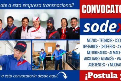 convocatoria empleos sodexo perú