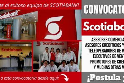 nueva convocatoria scotiabank