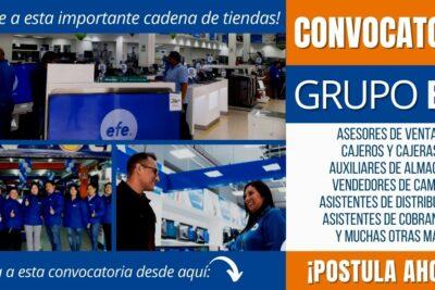 Convocatoria de empleos GRUPO EFE