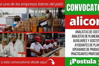 Empleos disponibles en ALICORP