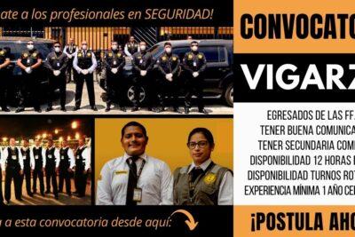 Empleos para Agentes de Seguridad VIGARZA