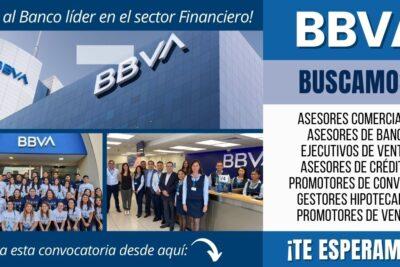 Nuevos empleos en Banco BBVA