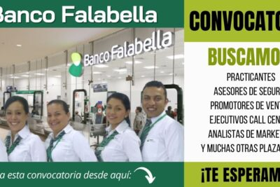 nuevos empleos banco falabella