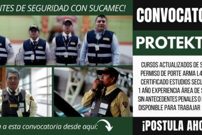 Empleos para Agentes de Seguridad PROTEKTOR